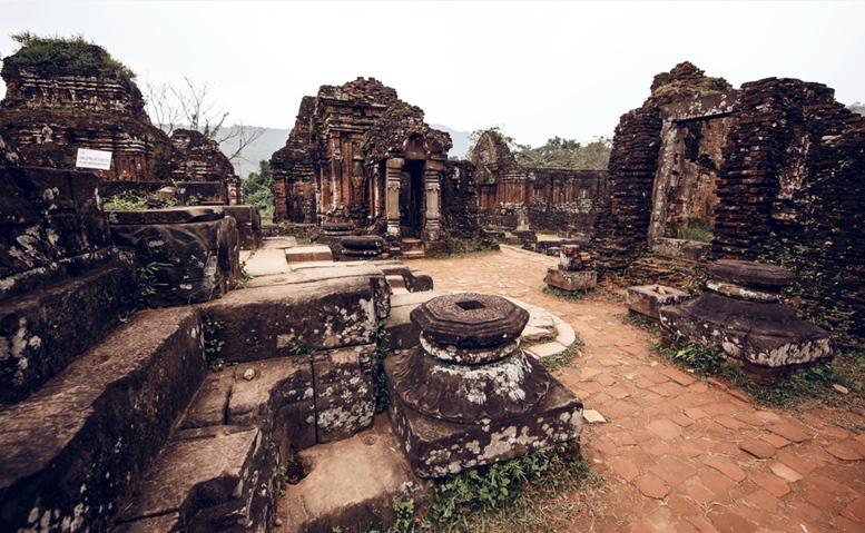 My Son temple ruins, Vietnam