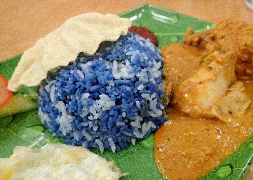 Nasi Ketuk Rendang Ayam at Donald & Lily Naya Food