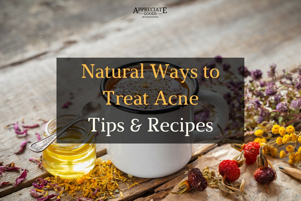 Natural Acne Treatments Article - Featured Image