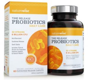 NatureWise Daily Care Time-Release Probiotics