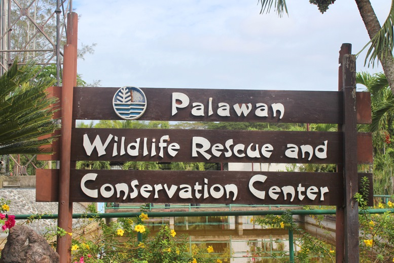Palawan Wildlife Rescue and Conservation Center Sign Board