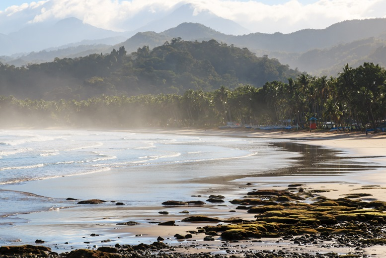 Palawan beach, by the Undergorund River, Philippines