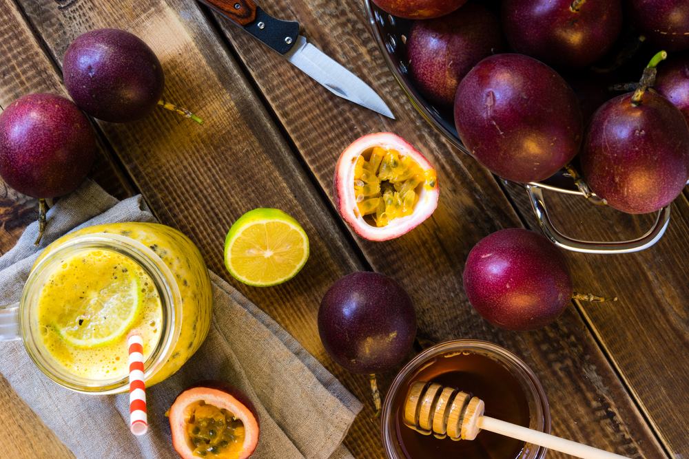Passion Fruit with Honey