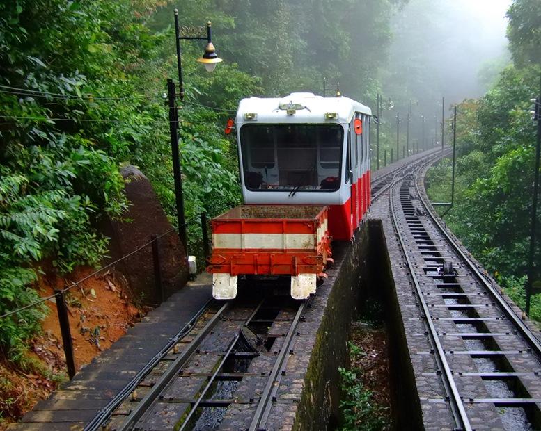 Penang Hill Tram Car
