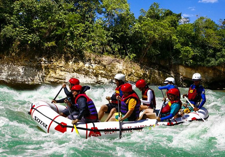 Rafting at the Cagayan de Oro River