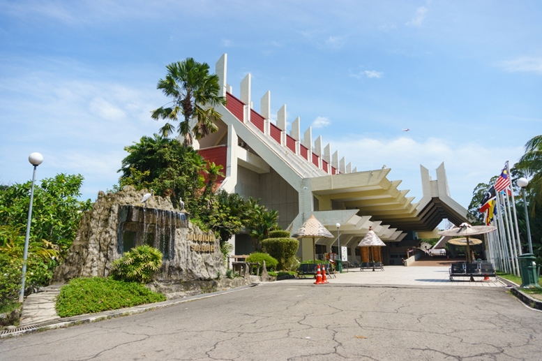 Sabah Museum. The museum located in Kota Kinabalu is among tourist destination in the city. Credit - Lano Lan