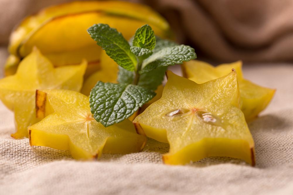 Sliced Starfruits