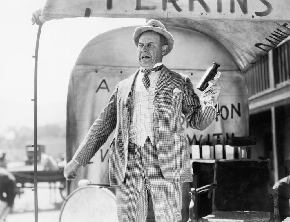 Snake Oil Salesman in the Olden Days