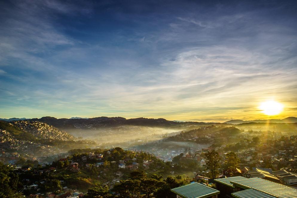 Sun Rise in Baguio City