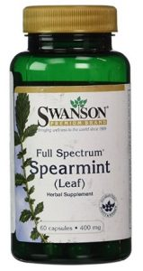 Swanson Full Spectrum Spearmint Leaf Capsule Supplement
