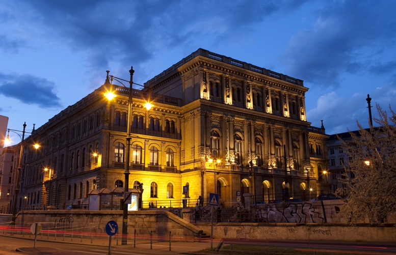 The Academy of Sciences in Budapest