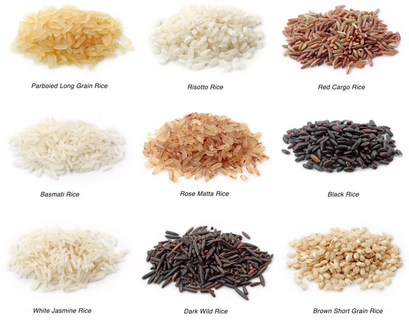 The Different Types of Rice