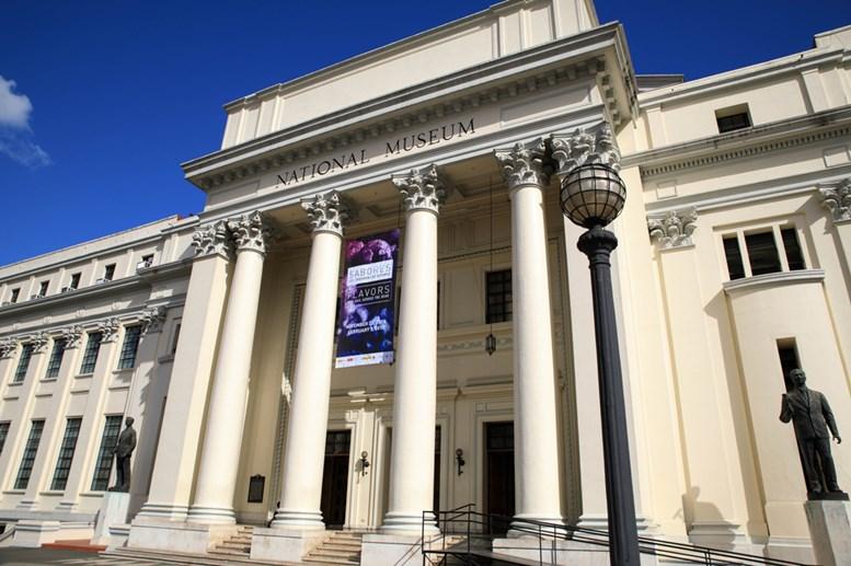 The National Museum at Rizal Park in Ermita, Metro Manila, The Philippines