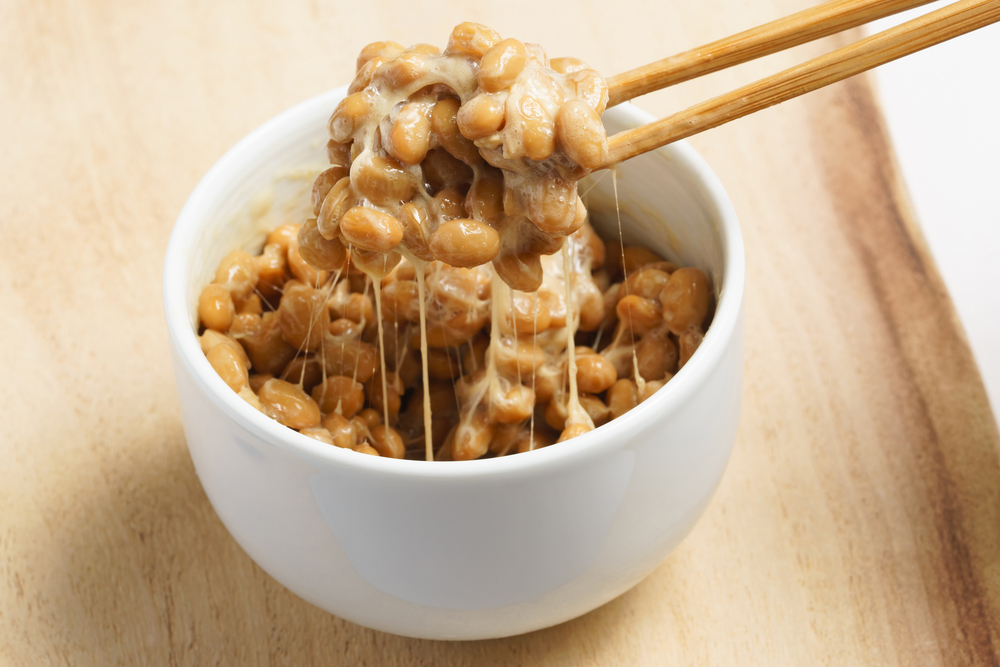 Top Probiotics Food Source - Natto (fermented soy beans)