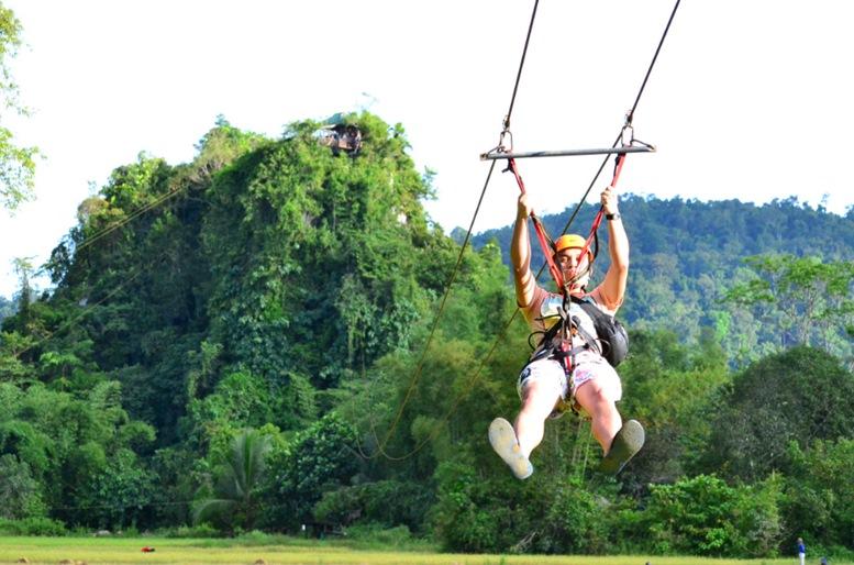 Ugong Rock ziplining