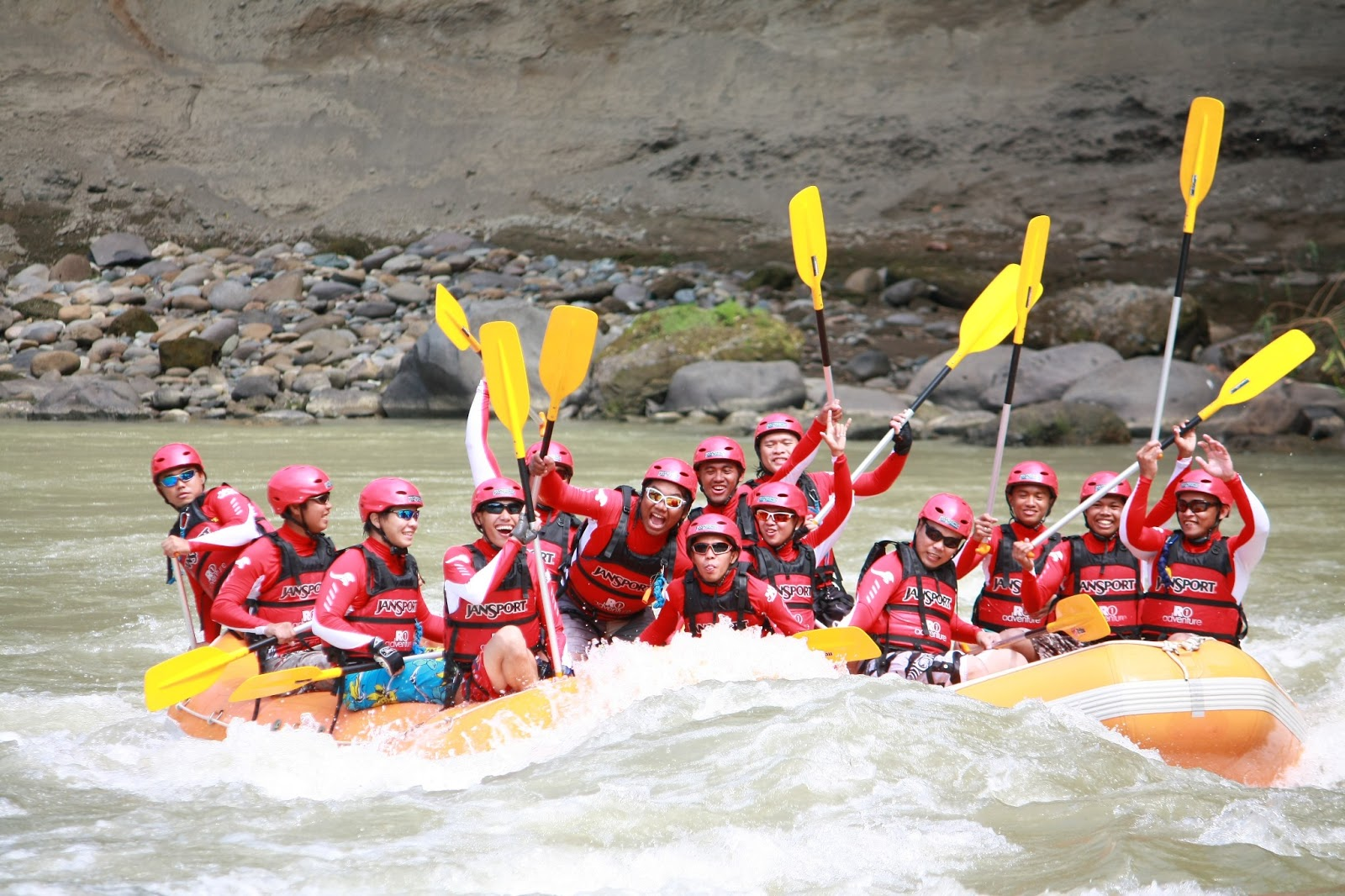 Water Rafting in Davao River