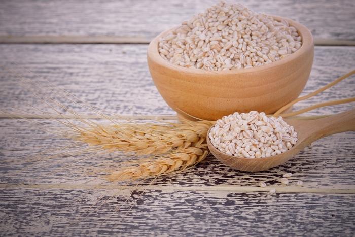 White Sorghum Grains with Wheat