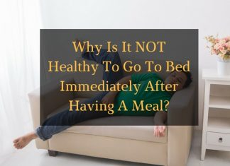Why is it not healthy to go to bed after meal article - featured image