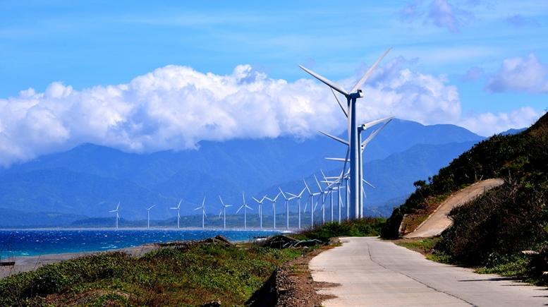 Wind Farm - Bangui, Ilocos Norte, Philippines