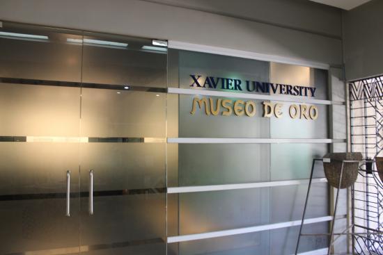 xavier museum - Museo De Oro