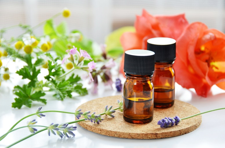 2 small bottles of Rose Garanium Essential Oil