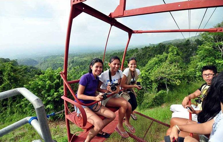 5th Mountain Adventure Park Zipline Cable Car