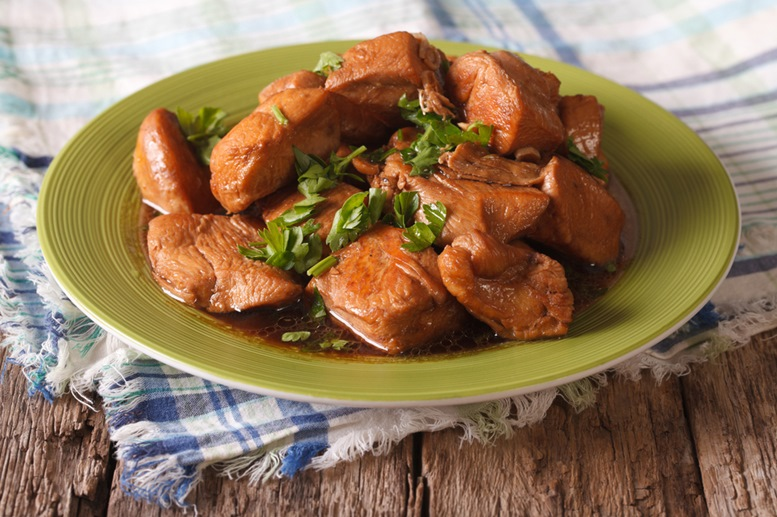 Adobo - A famous dish in the Philippines