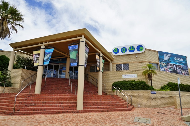 Aquarium of West Australia Entrance