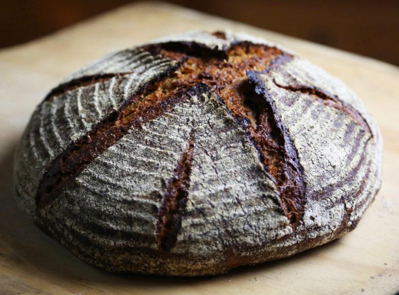 Artistic Rye Bread