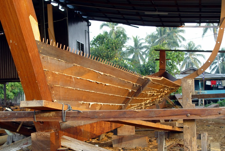 Boat Building At Pulau Duyong
