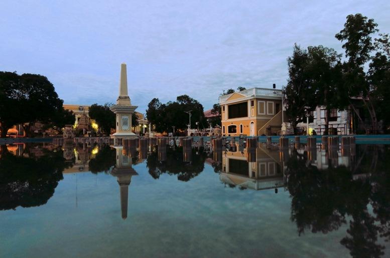 Colonial Plaza Salcedo, Vigan, Philippines