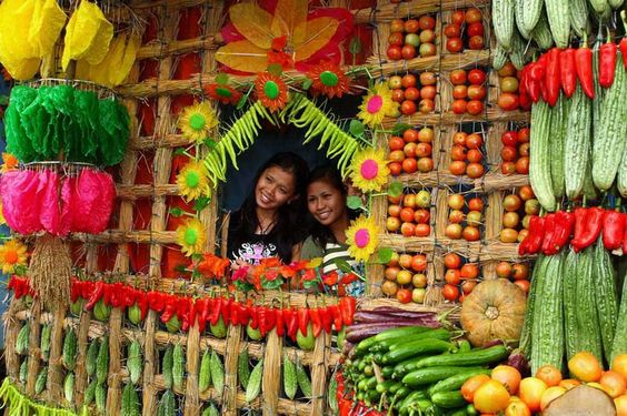 Colorful Fruit Houses