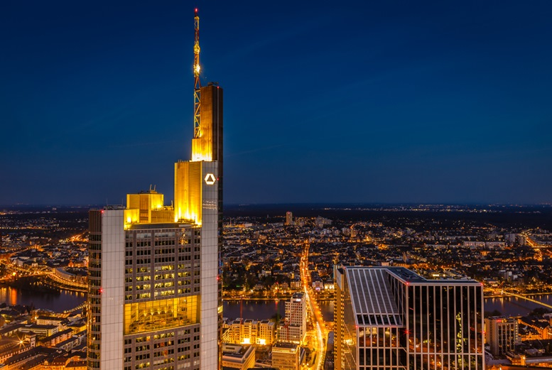 Commerzbank Tower - seen from the Maintower