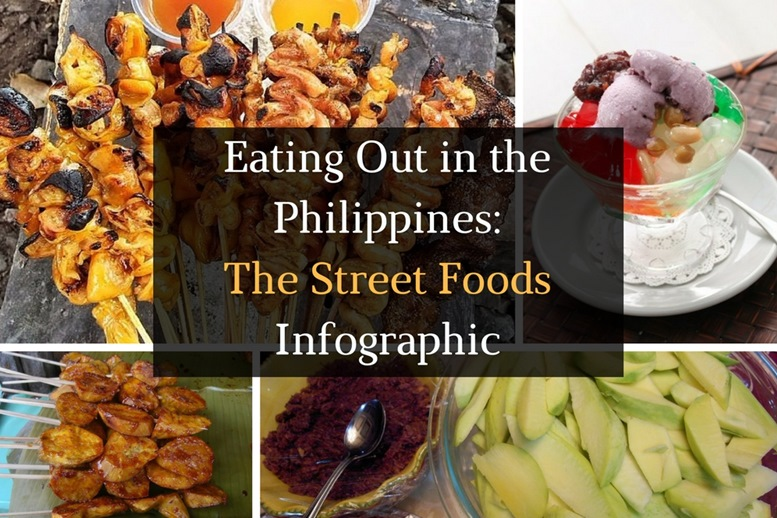 Eating Out in the Philippines - The Street Food Infographic - Featured Image
