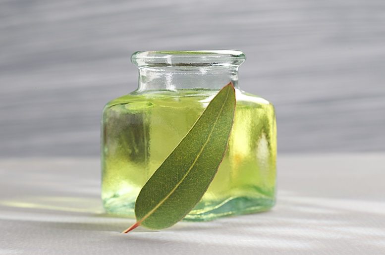 Eucalyptus Oil Close Up