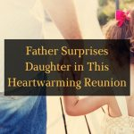 Father Surprises Daughter in this Heartwarming Reunion - Featured Image