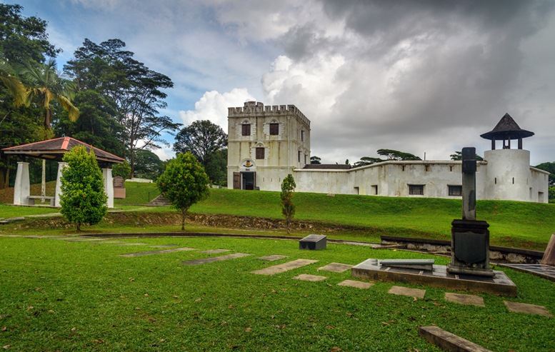 Fort Margherita in Kuching. Sarawak