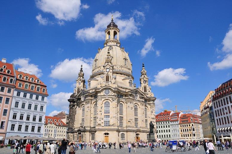 Frauenkirche Dresden Church