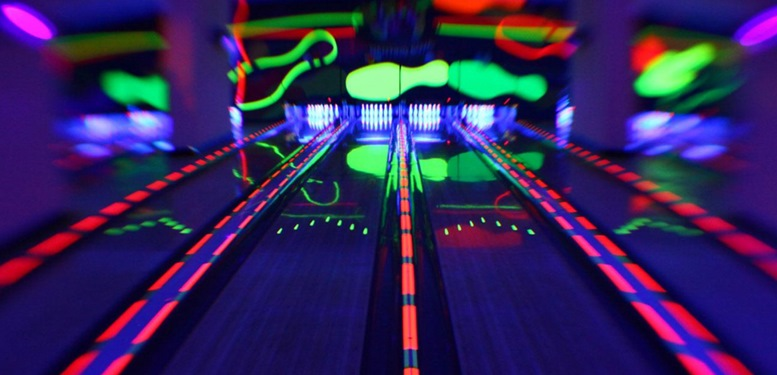 Genting Highland Grow in the Dark Bowling