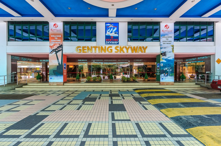 Genting Skyway Cable Car Entrance