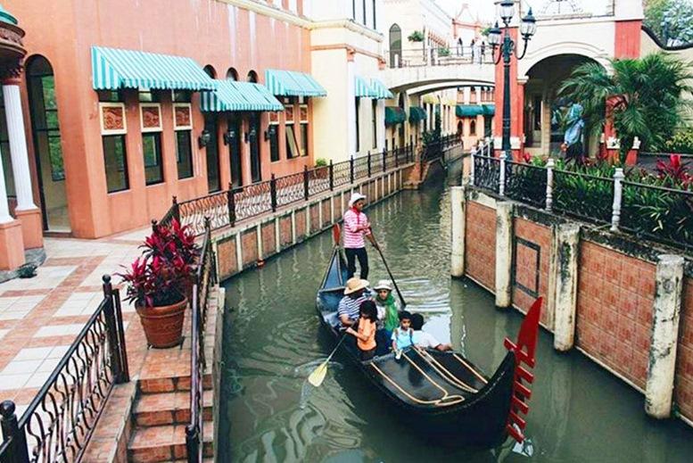 Gondola Ride At Little Venice