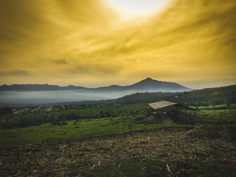 Gunung Salak - Mountain range in Bogor, Indonesia