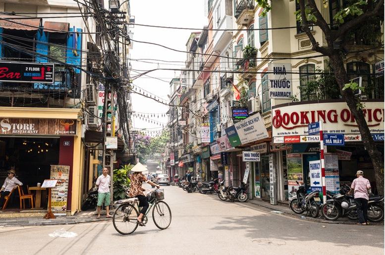 Hanoi Old Town Quarter