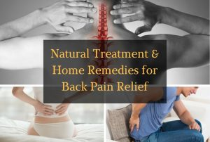 Natural Treatment and Home Remedies for Back Pain Relief