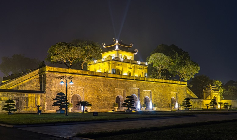 Imperial Citadel Night View