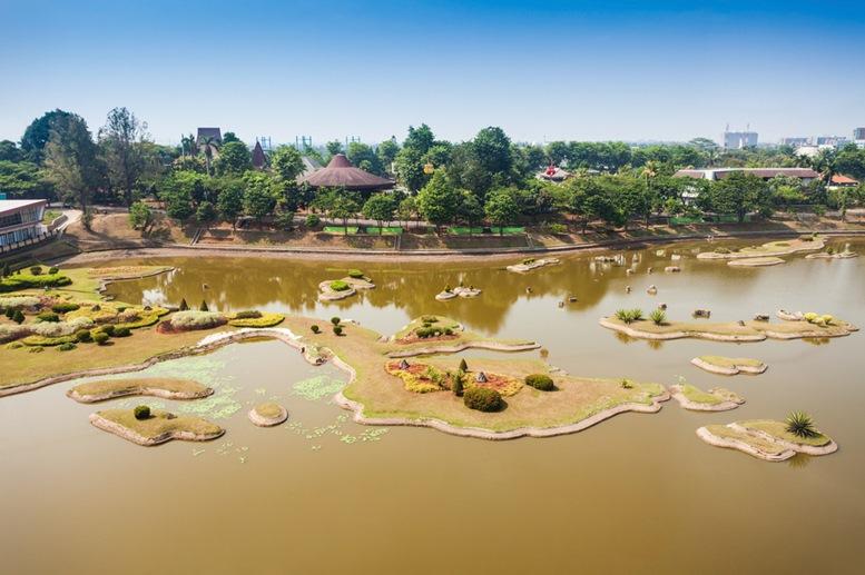 Indonesia Miniature Park River