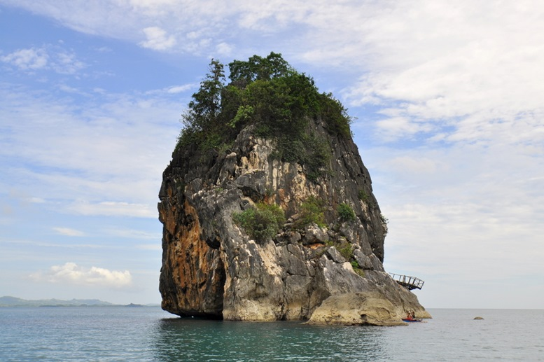 Limestone Outcropping - Camarines Sur, Philippines