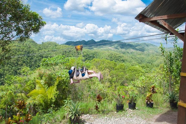 Loboc Eco-Tourism Adventure Park, Zipline
