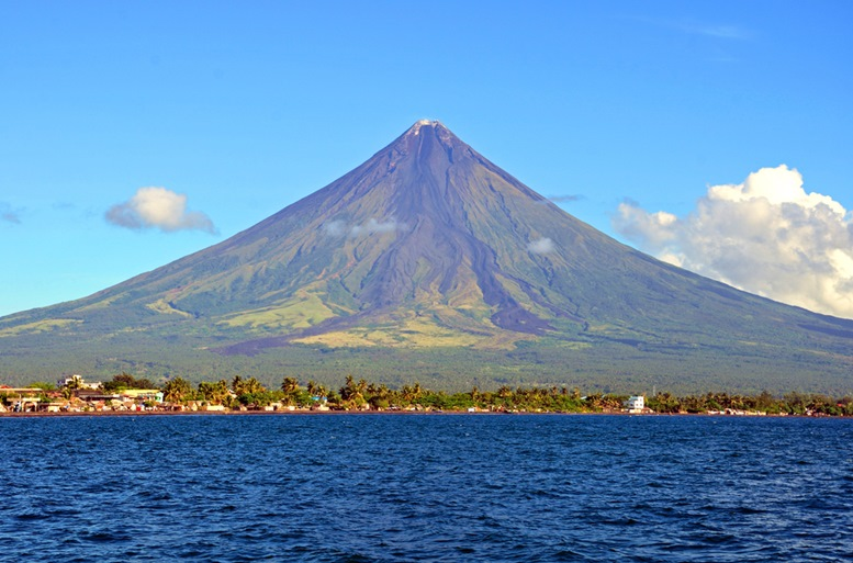 Mayon Volcano by the Gulf of Albay