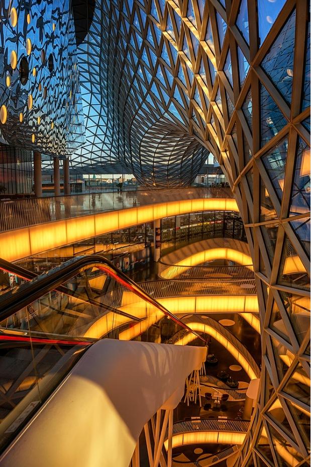 MyZeil Shopping Mall Designed by Massimiliano Fuksas